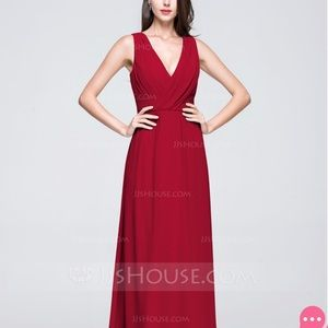 Mulberry Bridesmaid Dress